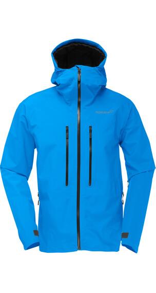 Norrøna M's Trollveggen Gore-Tex Light Pro Jacket Signal Blue
